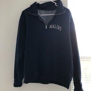 Brandy Melville half zip sweatshirt